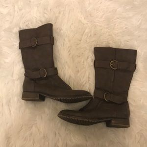 AEO Dark Brown Fall Boots SIZE: 7
